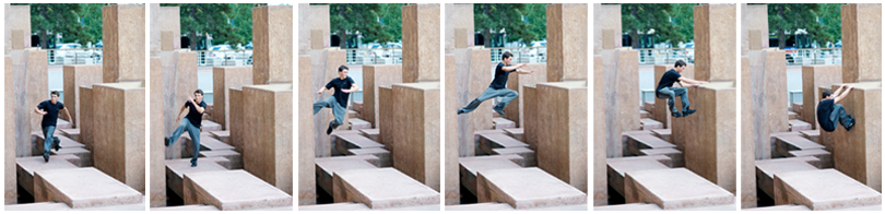 Denver Senior Portrait Photographer, AudreyMichel Photography, Parkour, downtown Denver