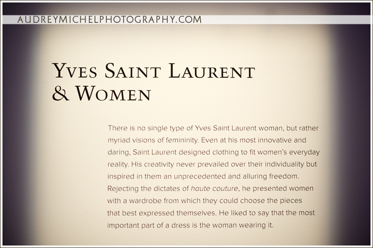 Denver Event Photographer, AudreyMichel Photography, Yves Saint Laurent and the Denver Art Museum