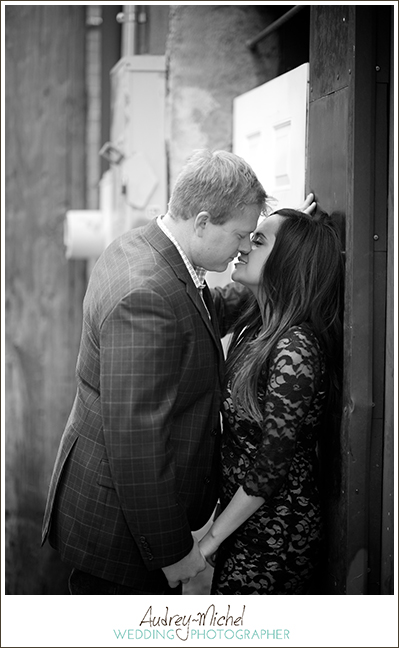 Denver LoDo Sophisticated Engagement Portrait
