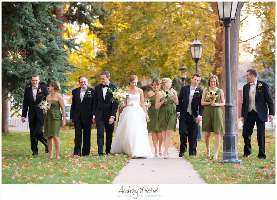 Wedding Party Photos, Denver Wedding Photographer