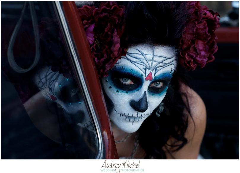 Sugar Skull bride, Halloween