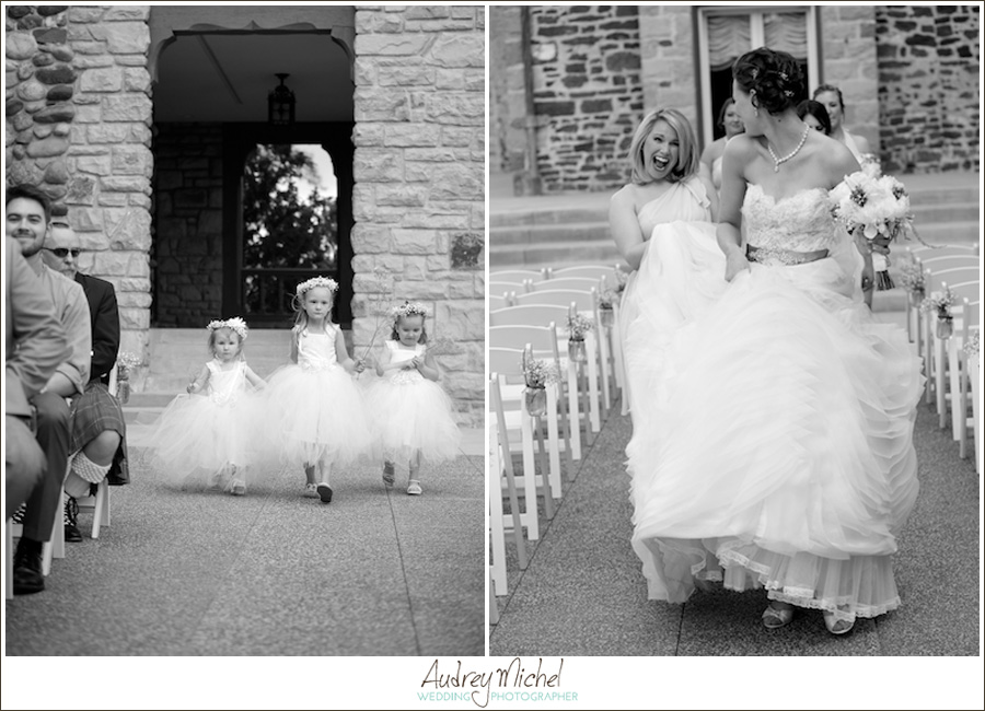 adorable flower girl dresses, bridesmaid candid photograph, Highlands Ranch Mansion Wedding Photographer