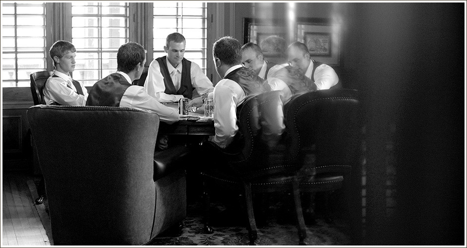 Colorado-Mansion-Wedding-Groomsmen-Poker