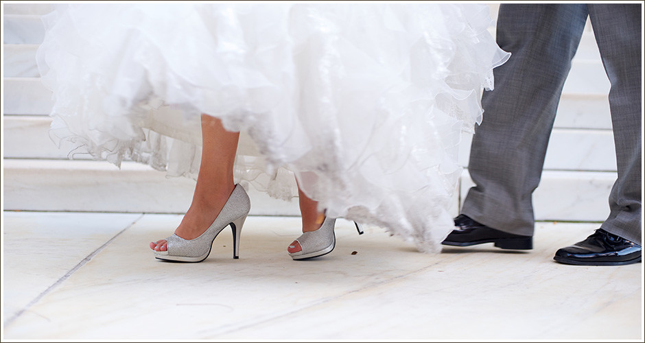 Four-Seasons-Wedding-Denver-Couples-Portrait-Shoes
