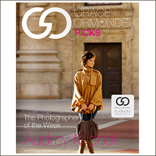 Grace Ormonde Featured Photographer, Audrey Michel Wedding Photographer